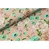 Megan Blue Fabrics Digital Flowers - old pink