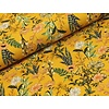 Megan Blue Fabrics Digital Flowers - Ocre