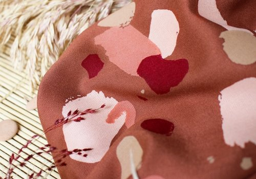 Atelier Brunette Viscose Granito Chestnut