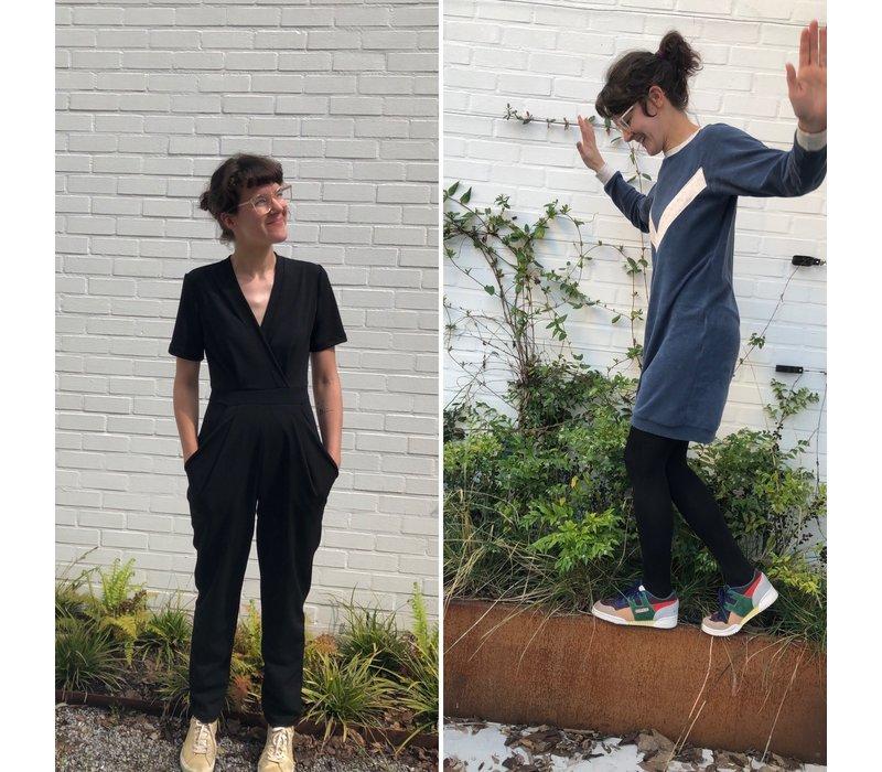 Workshop Dames - Kleedje of Jumpsuit 8-22/10