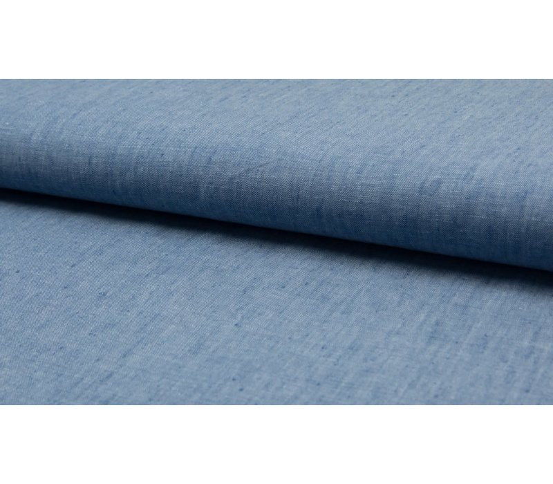 Melange Linen Denim
