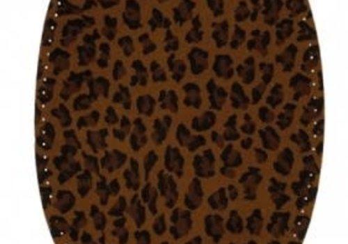Knie/Elleboog patch Leopard brown