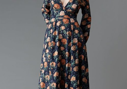 Deer & Doe Pattern Magnolia Maxidress // Dress
