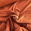 De Stoffenkamer Stretch rib Met Brede Ribbel chestnut roest