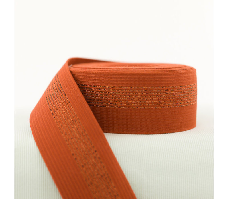Taille Elastiek Roest Koper 5cm