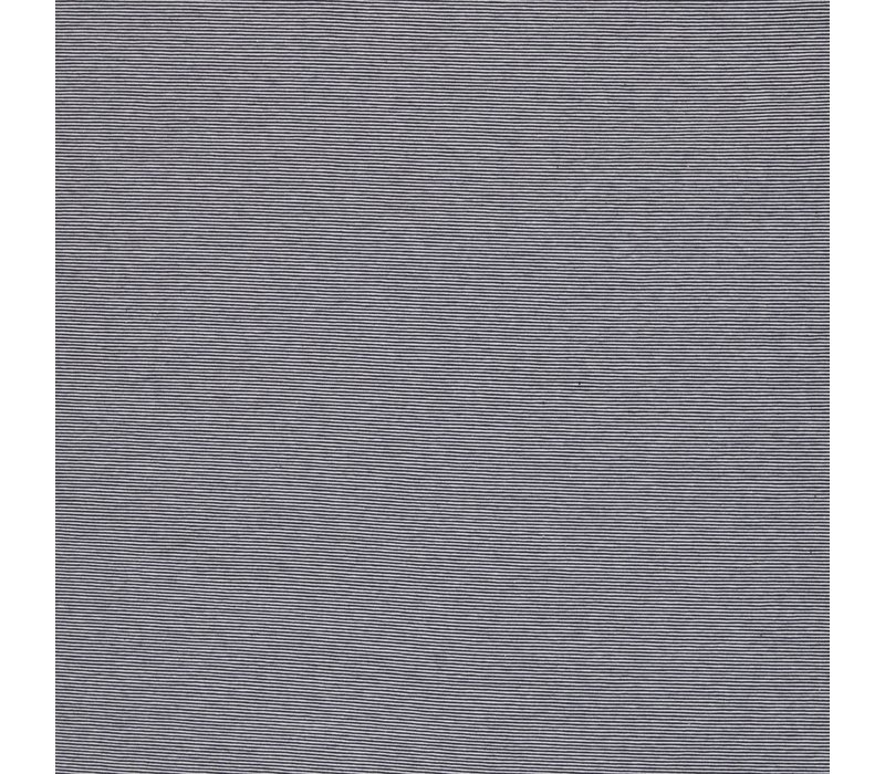 Tricot Small Stripes white//navy