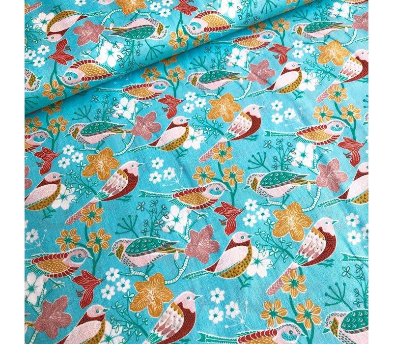 Cotton birdlife turq