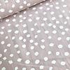 De Stoffenkamer Cotton dots oldpink