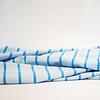 Hello Heidi Bio Tricot Stripes Pool tropico azzuro