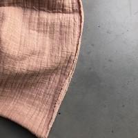 Linen double gauze Soft Pink