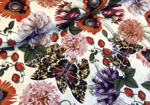De Stoffenkamer Swimwear Lycra flowers
