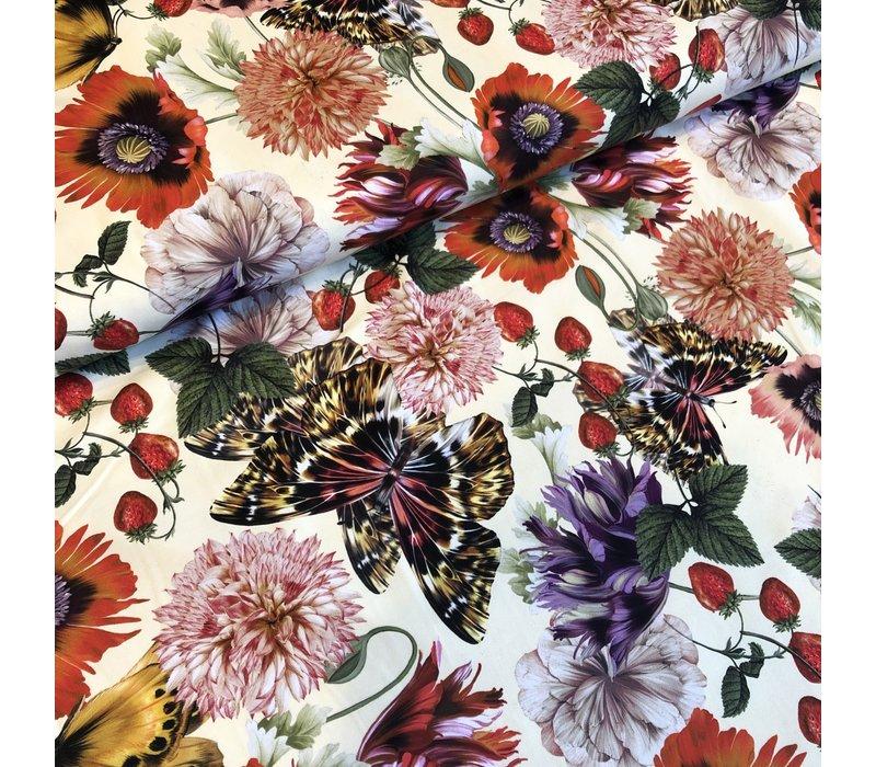 Swimwear Lycra flowers