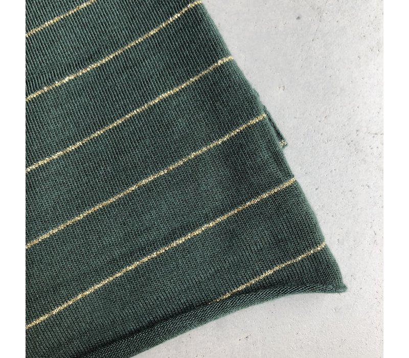 Tencel Tricot Green gold