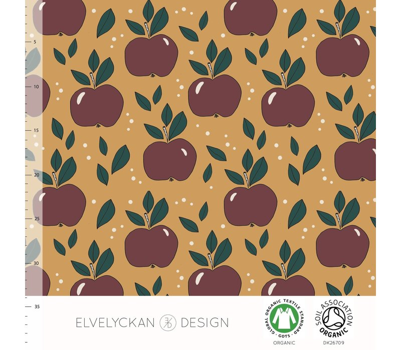 Tricot Apples Gold