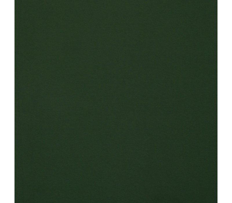 Effen tricot Dark Green