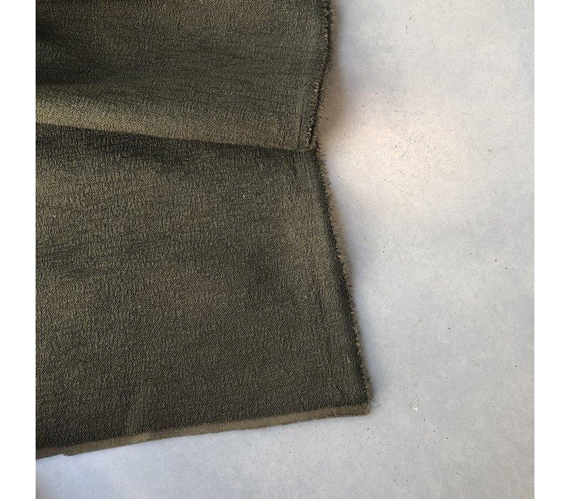 Scuba Crepe structure Khaki