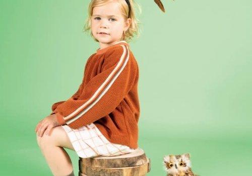 La Maison Victor Stina Sweater chenille Roest LMV '19