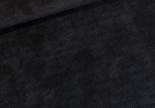 La Maison Victor Stina Sweater chenille zwart LMV '19