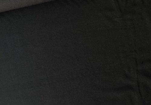De Stoffenkamer Pantalon gabardine zwart