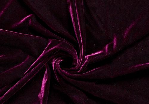 De Stoffenkamer Fluweel Velvet Bordeaux