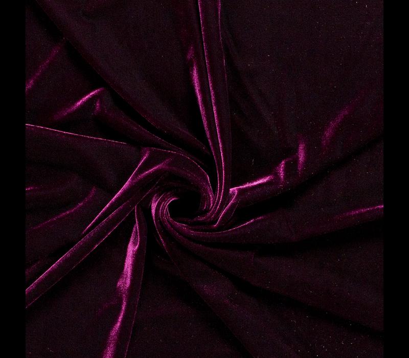 Fluweel Velvet Bordeaux