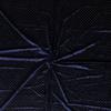 De Stoffenkamer Fluweel Velvet navy gold dots
