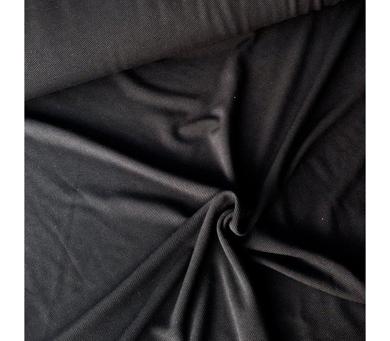 Structuur Tricot zwart