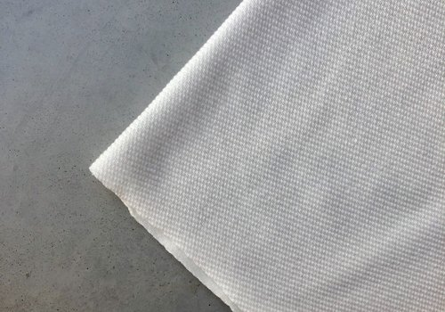 Structuur Tricot off white