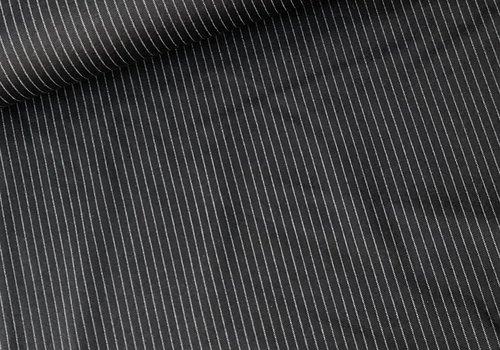 De Stoffenkamer Extra dik tricot - Punta black costume