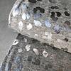 Tricot Foilprint leopard grey melange