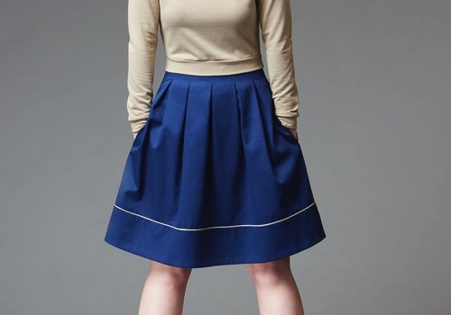 Deer & Doe Pattern Chardon Skirt