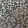 De Stoffenkamer Geweven jacquard wolmix Leopard
