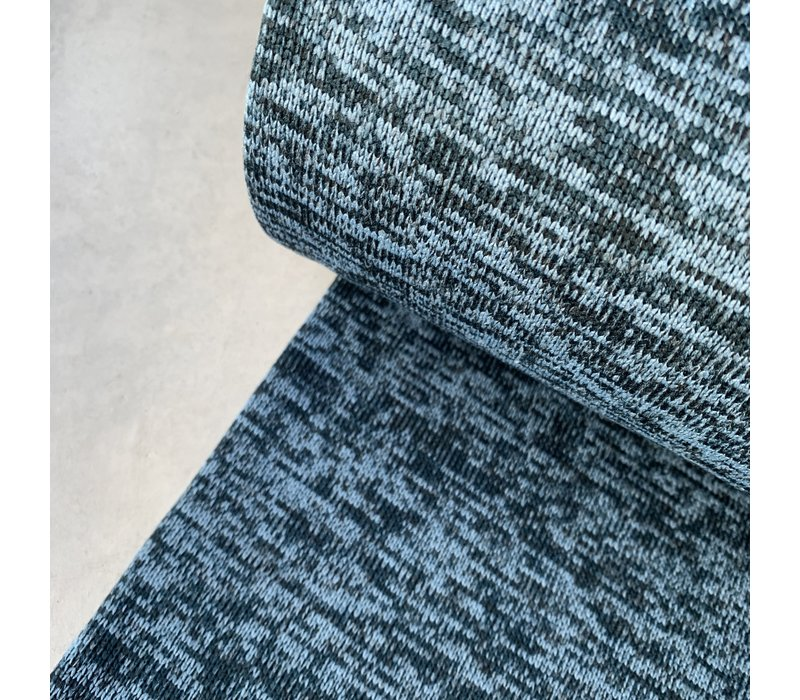 Soft Sweater Mid and dark blue