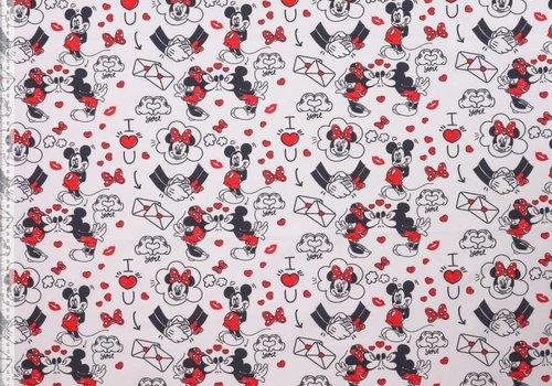 Katoen Mickey Love Letters