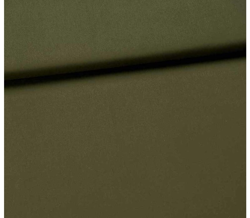Fibremood Faye Jurk Stretch katoen khaki