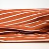 Hello Heidi Bio Tricot Stripes Pool Rust Powder