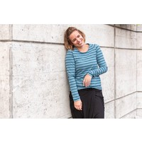 Bio Tricot Stripes Pool Garda Petrol