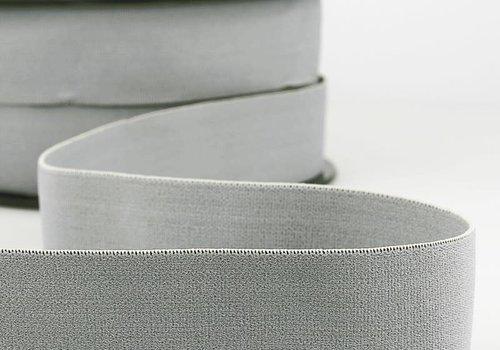 De Stoffenkamer Taille Elastiek 32mm Grey