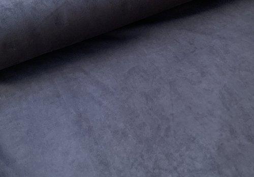 De Stoffenkamer Scuba Suede dark blue