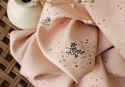 Atelier Brunette Viscose Twill - twig blush