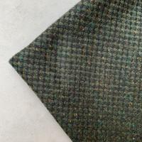 Wol Mix Tweed Green