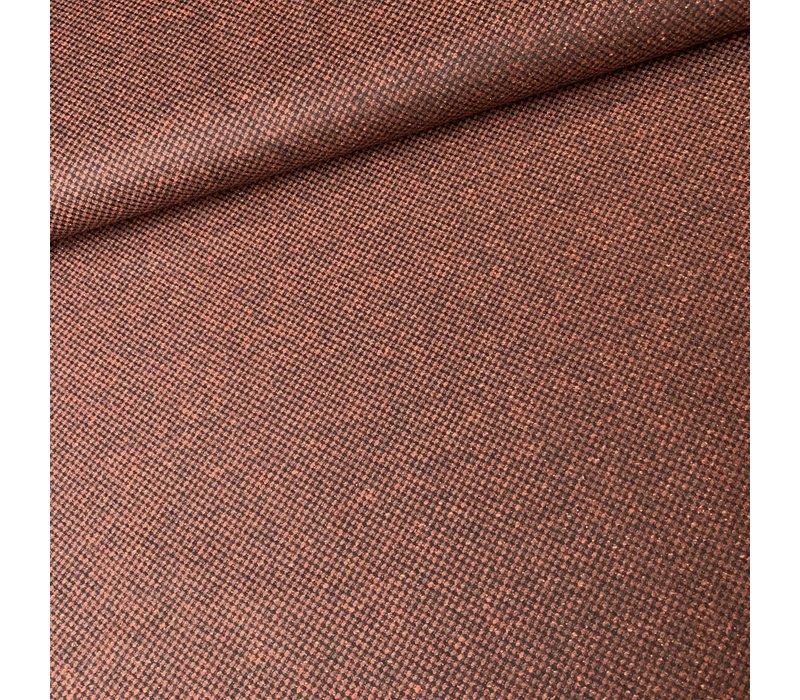 Wol Mix Tweed Rust