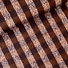 De Stoffenkamer Wol mix Checks Rust/Burgundy