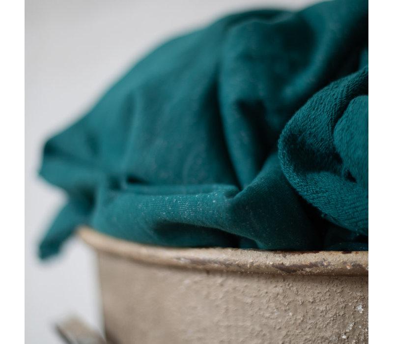 Organic Nep Sweat - Emerald 180cm breed