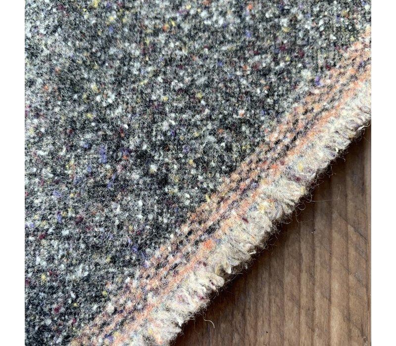 Wol Mix Tweed Grey Spicks Multi