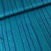 Editex Blouse satin turquoise herringbones