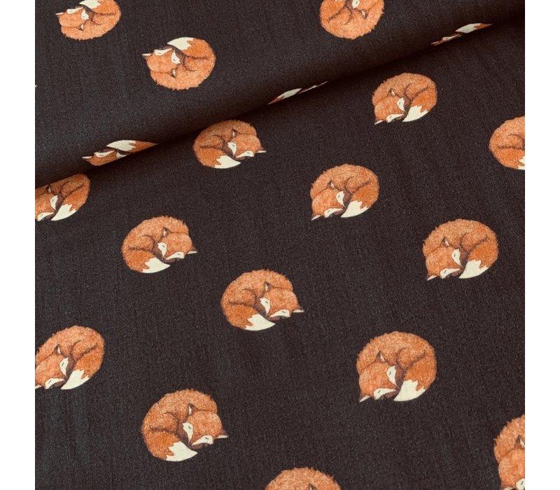 Soft Baby cotton sleeping fox