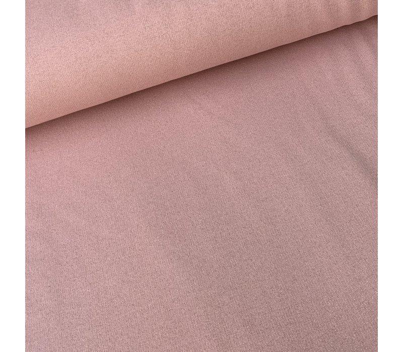 Warm Sweater pink glitter gold