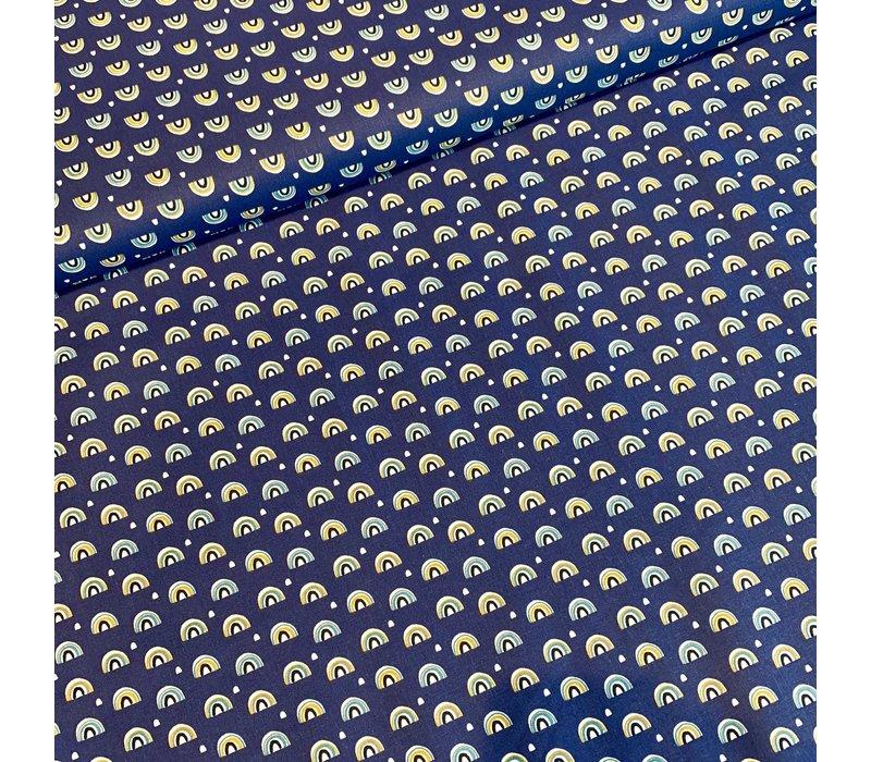 Cotton primoon rainbow blue
