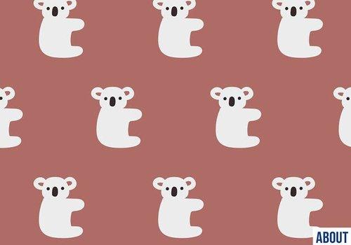 About Blue Fabrics French Terry - Hello Koala